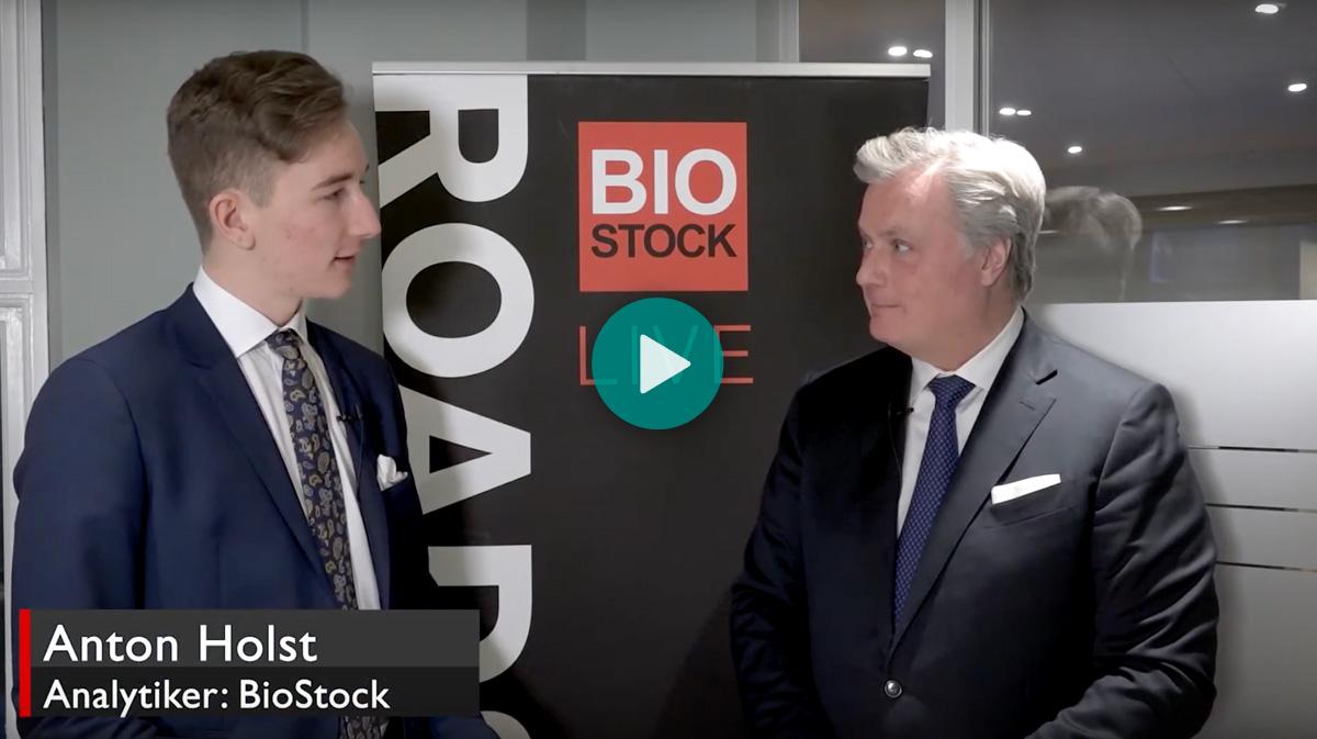 QuiaPEG Intervju på BioStock Live | 13 februari 2020