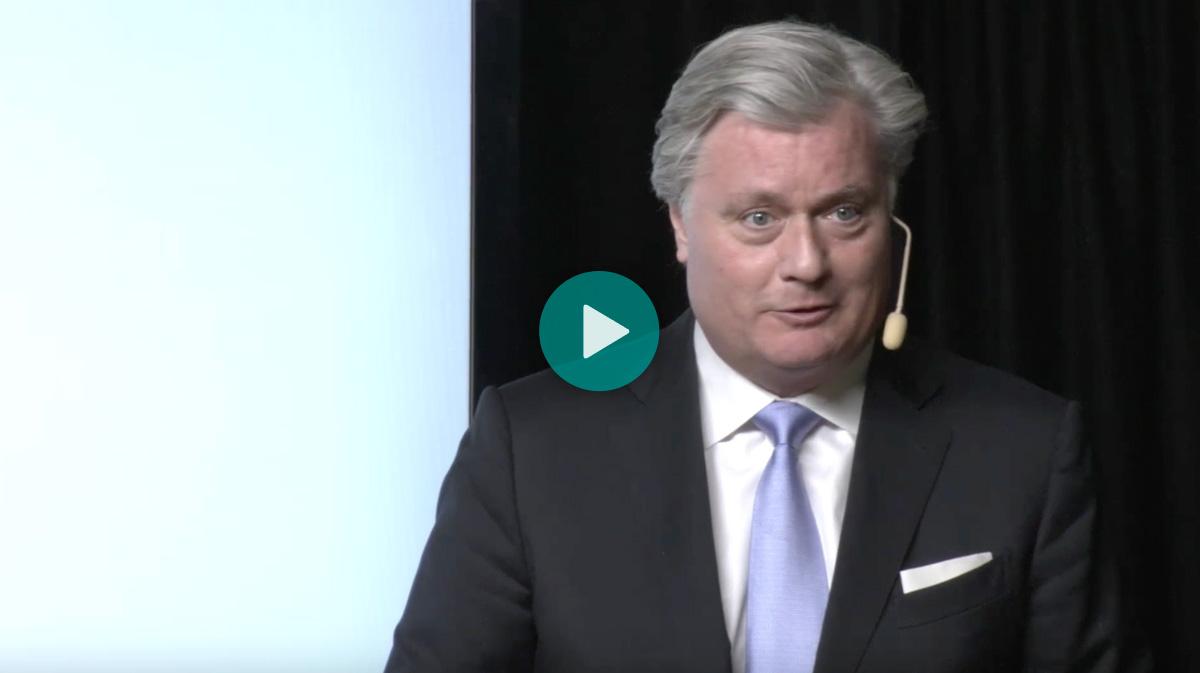 VD Marcus Bosson presenterar QuiaPEG på Redeye, 16 april 2020